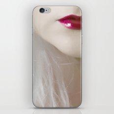 cherry lips iPhone & iPod Skin