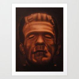 Frankenstein's Monster 1 Art Print