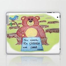 Sad bear & friend Laptop & iPad Skin