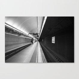 Metro B and W Canvas Print