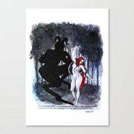 Babalon. Liber 49 Canvas Print