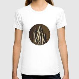 DRIFTWOOD ON WOOD GRID T-shirt