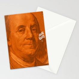 Benjamin Dark (orange light) Stationery Cards