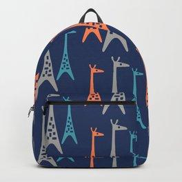 Mid Century Modern Giraffe Pattern 242 Backpack