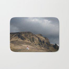 Church in Vik Iceland Bath Mat