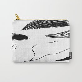 Black Eye Weeping Carry-All Pouch