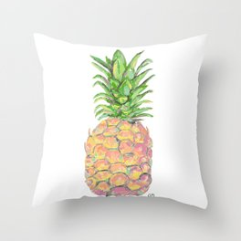 Brite Pineapple Throw Pillow