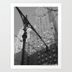 Empire City Art Print