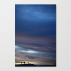 Flag Landscape Canvas Print