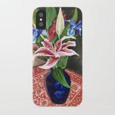 Fresh flowers Slim Case iPhone X
