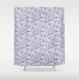 Crystallized Shower Curtain