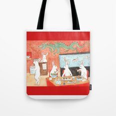 Sushi and Noodles Tote Bag