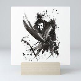 Japanese samurai Mini Art Print