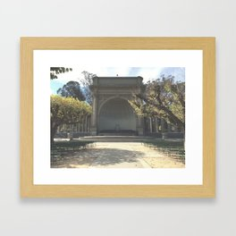 Temple Of Music // Golden Gate Park Framed Art Print