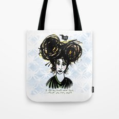 Bird's Nest Hair Tote Bag