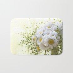 Bouquet of daisies in LOVE - Flower Flowers Daisy Bath Mat