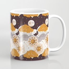 Mid Century Modern Sun & Moon Coffee Mug