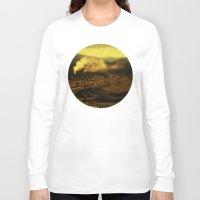 train Long Sleeve T-shirts featuring train by MartaSyrko