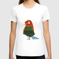 birdy T-shirts featuring Birdy by KristinaVardazaryan