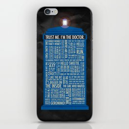Doctor Who  iPhone Skin