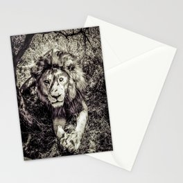 Mufasa stares back Stationery Cards