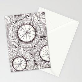 Geometric Circles Stationery Cards