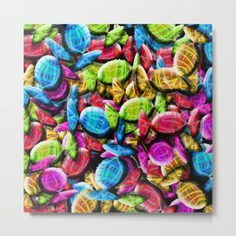 Candy Galore Metal Print
