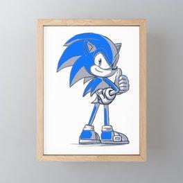 Sonic Good  Framed Mini Art Print