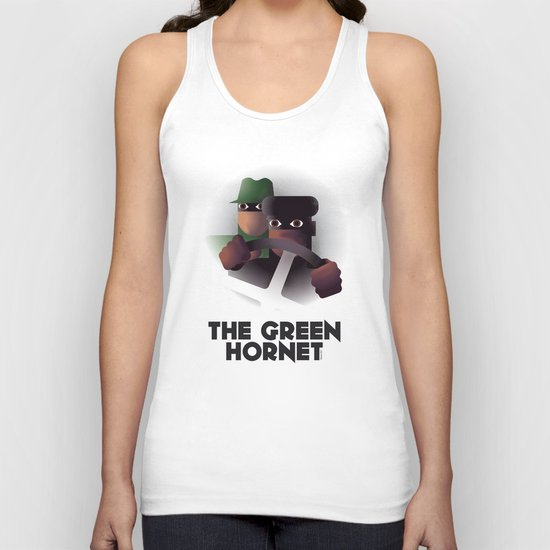 Cassandre Spirit - The green hornet Unisex Tank Top