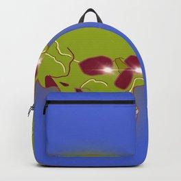 Green skull Backpack