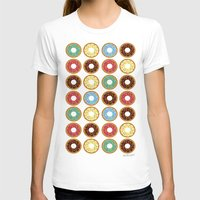 donuts T-shirts featuring Donuts!! by Ron Trickett
