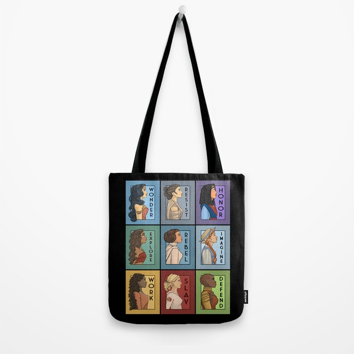 She Series Collage - Version 1 Tote Bag