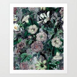 Floral Camouflage VSF016 Art Print