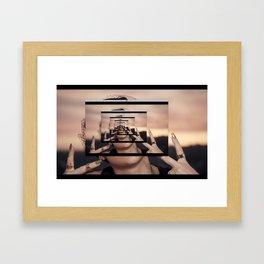 the internet Framed Art Print