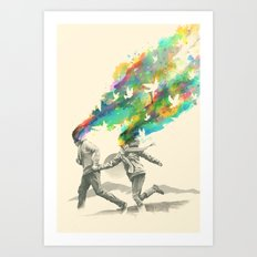 Emanate Art Print