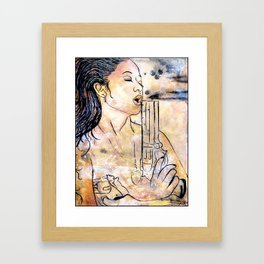 Caliber Love #4  Framed Art Print