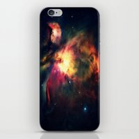 nebula iPhone & iPod Skins featuring Orion NEbula Dark & Colorful by 2sweet4words Designs