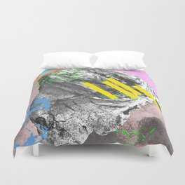 Aging but Contemporary Duvet Cover