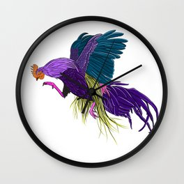 dont get cocky, kid Wall Clock