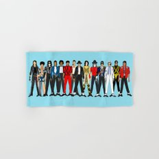 King MJ Pop Music Fashion LV Hand & Bath Towel