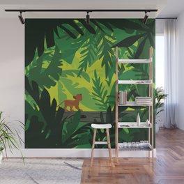 Lion King - Simba Pattern Wall Mural
