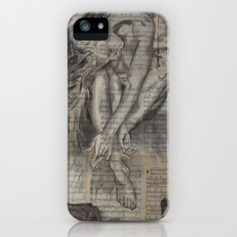 Music pages Oh Sherrie iPhone Case
