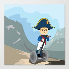 Napoleon Segways the Alps Canvas Print