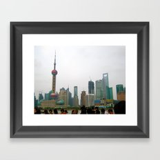 Shanghai Framed Art Print