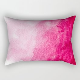 Hopeless, Romantic And Pink #decor #buyart #society6 #art #prints Rectangular Pillow