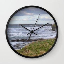 Northumbrian Seas Wall Clock