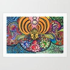 Colorstorm Art Print