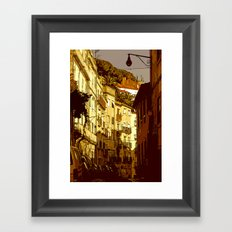 alfama... Framed Art Print