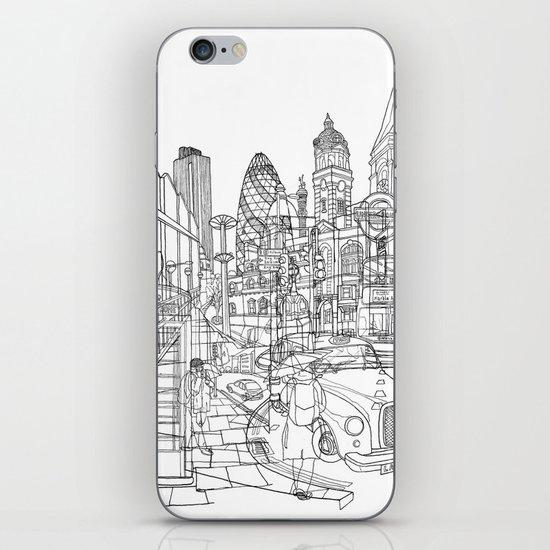 London! iPhone & iPod Skin
