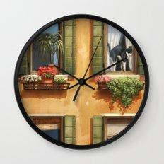 The Sunny Spot Wall Clock